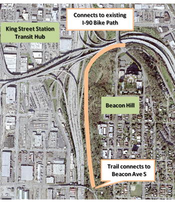 KIRO Reporter Concerned About MTS Trail Extention Through