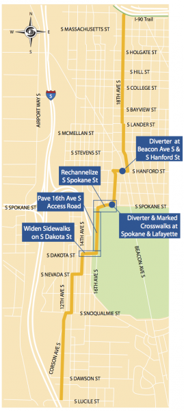 From an SDOT mailer to project neighbors