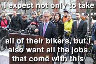Photo courtesy of Grid Chicago, used with permission. Caption is ours (a quote from Rahm Emanuel)