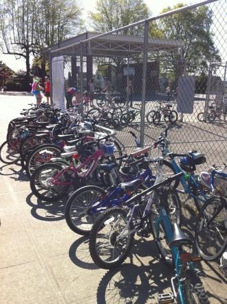 Full Bryant Bike Racks in 2012