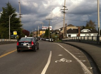 Seattle's magical disappearing bike lanes are everywhere
