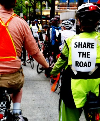 Seattle Ride of Silence 2012