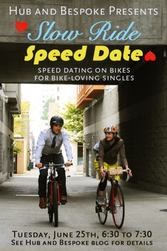 Speed dating slow dating