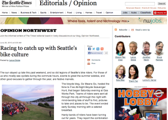 A recent Seattle Times editorial