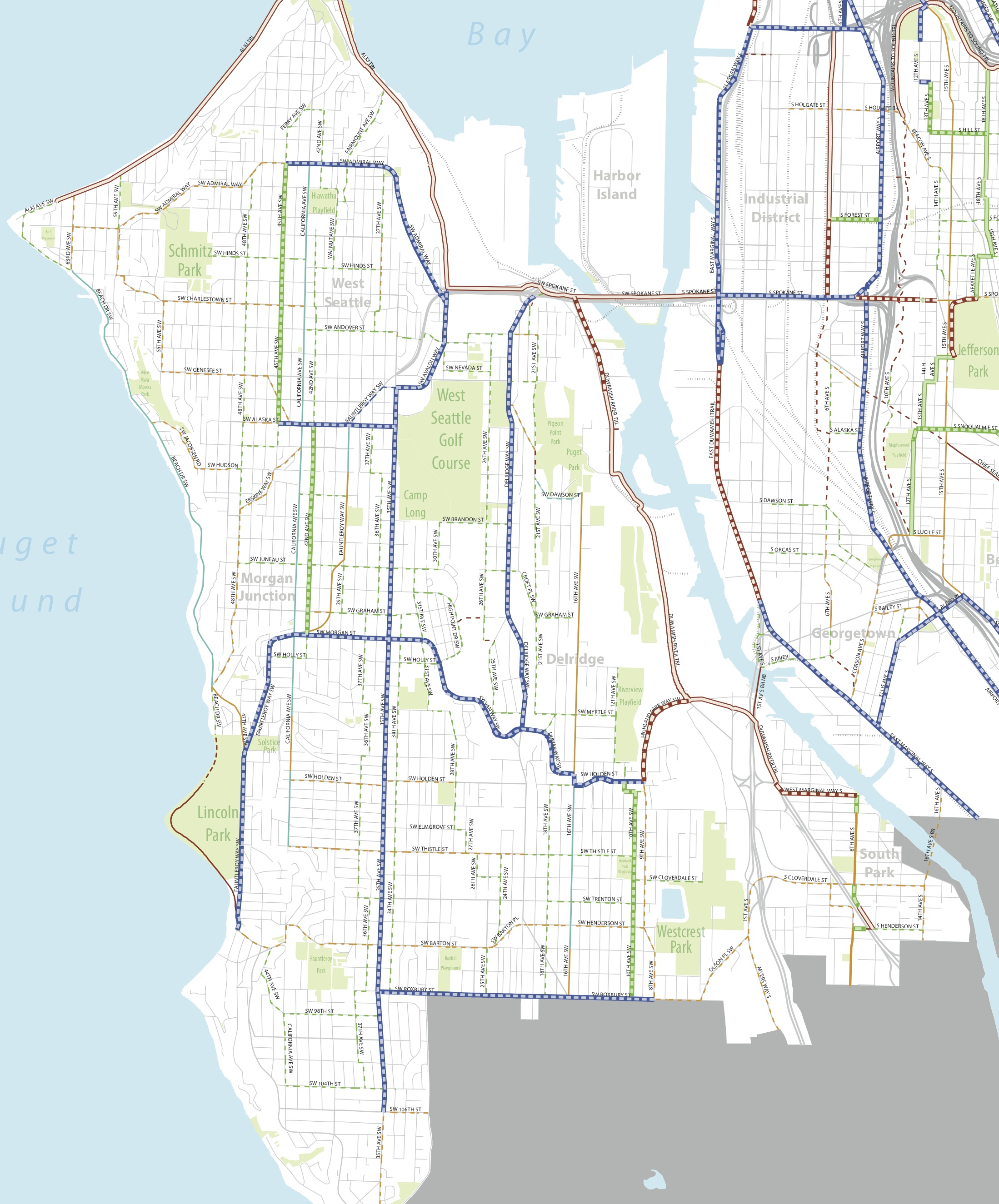 Seattle BMP Master Map WS