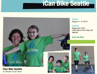 From the iCan Bike website