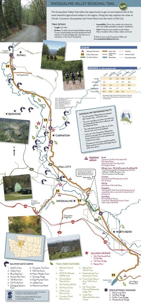 New Snoqualmie Valley Trail Bridge Opens Between North