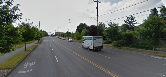 Looking west on NE 75th from 12th Ave NE. Via Google Street View
