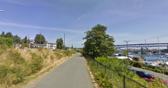 Approximate area where the victim was found. Image from Google Street View