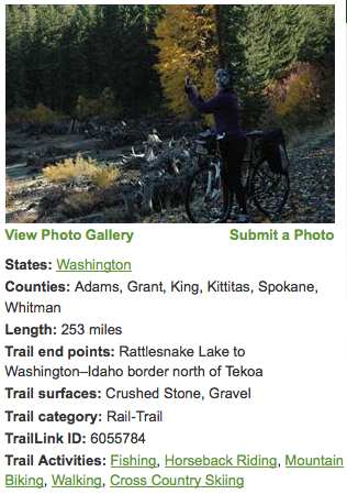 Idea for a 2014 goal: Bike the nation's longest rail-trail (it's right here in Washington)