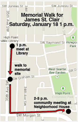 James St. Clair Memorial Walk