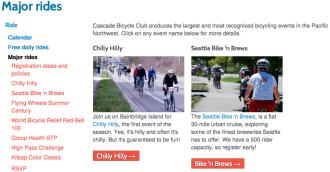 Screenshot from Cascade website
