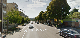 Approximate location, via Google Street View