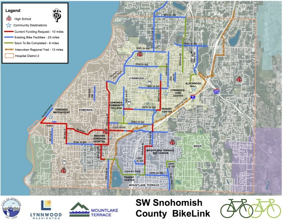 Snohomish County Bike Links