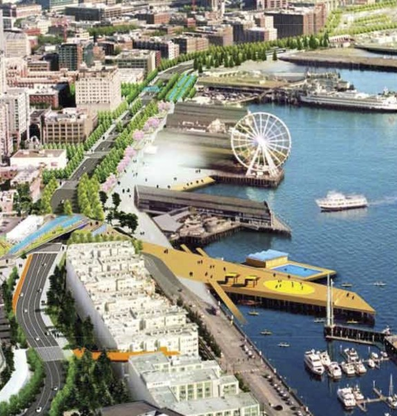 A replacement highway is already planned on the waterfront.