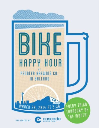 Bike Happy Hour @ Peddler Brewing Company