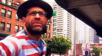 Eric Patchen. Screenshot from 2010 CityStream episode (watch below)