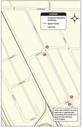 Hiawatha Greenway Map Recommendations