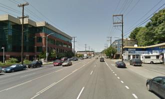 Your Hempfest bike route detour: Ellott Ave W. Yikes.