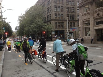 Pronto and the 2nd Ave bike lane launched around the same time. Neither has since expanded as planned.
