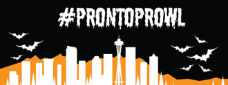 #ProntoProwl: Costumed bike share ride @ Meet at 15th and Thomas Group Health Station | Seattle | Washington | United States