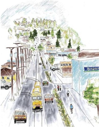 What N 45th Street could look like with a complete Burke-Gilman Trail