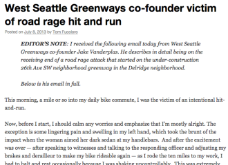Screenshot from our original account. Click to read what happened in Jake's words.