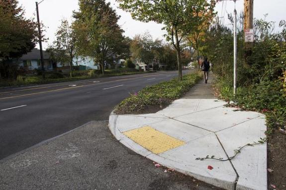 """SDOT today hailed Holman Road as a """"complete street"""""""