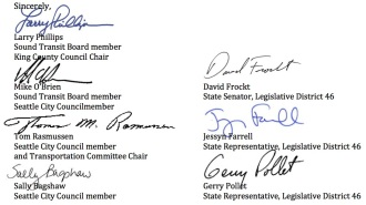 Signatures on the letter. See the full text below.