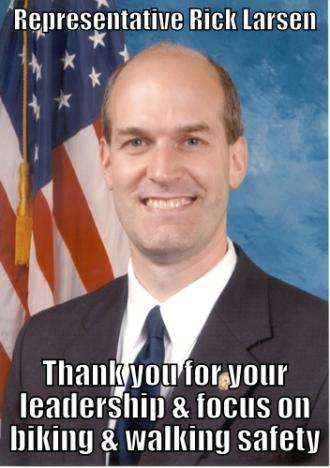 Rep. Rick Larsen. Image from WA Bikes