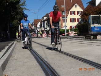 Image from the VBZ agency in Zurich.