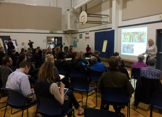SDOT presented about the proposed changes at a Tuesday open house
