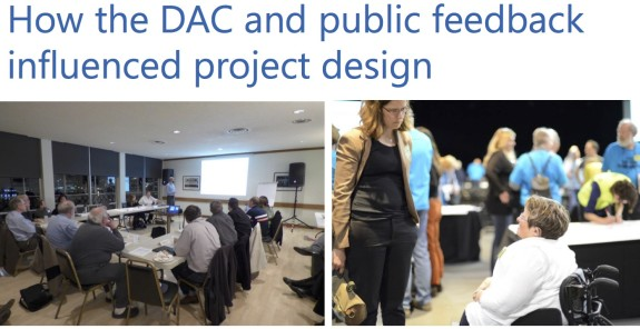 "From a recent presentation to the Community Design Advisory Committee (""DAC"")"