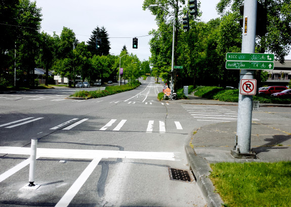 We can't just drop protection at intersections and call it done.