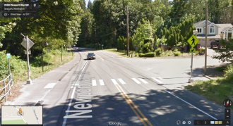 Image of the intersection from Google Street View.
