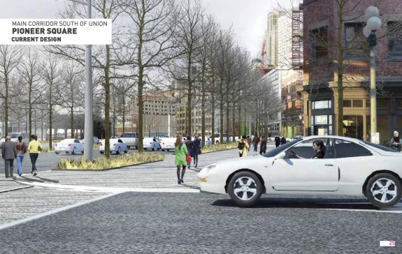 This glossy concept image from a late 2014 Design Commission presentation conveniently doesn't pan any further left to see how wide this street really is