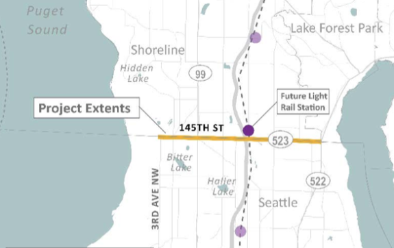 145th St Project Extent