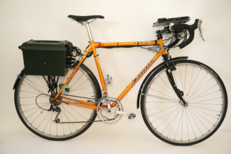 Photo of the trail conditions monitoring bike, from SDOT