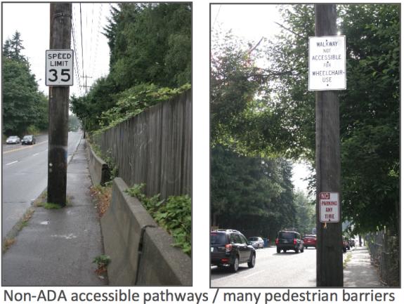 145th St. Sidewalk Barriers