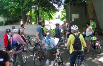 South Lake Union Seattle Neighborhood Greenways Scouting Ride July 2015