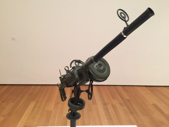 Pino Pascali's Machine Gun.