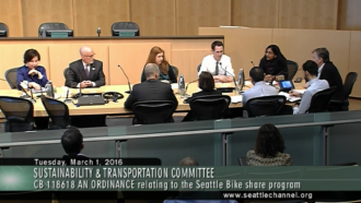 The Sustainability & Transportation Committee votes 4-2 to buyout Pronto.