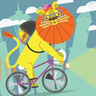 lion bike profile_Artboard Profile400