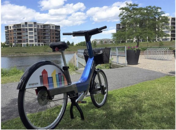 Could this be Seattle's new bike share bike?