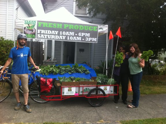 For two summers, I hauled Clean Greens CSA boxes around the Central District.