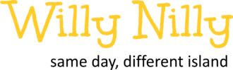 willy nilly transparent black lower text