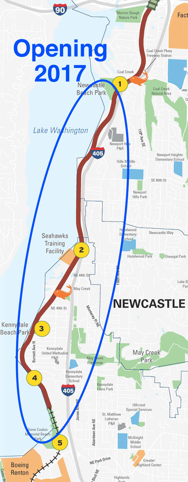 Five Miles Of The Eastside Trail Could Open By The End Of The Year