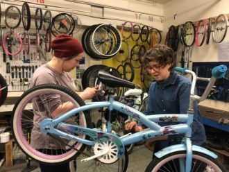 GET SPOKED! WOMXN, TRANS, GENDER NON-BINARY VOLUNTEER REPAIR PARTY & OPEN SHOP @ Bike Works Warehouse | Seattle | Washington | United States