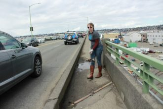 Ballard Bridge Sidewalk Clean-Up @ Peddler Brewing Company | Seattle | Washington | United States