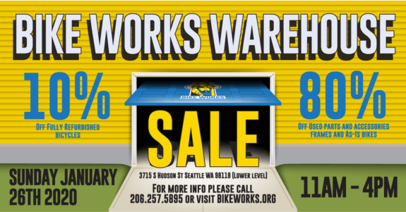 Warehouse Sale poster image